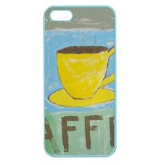 Kaffe Painting Apple Seamless Iphone 5 Case (color)