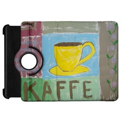 Kaffe Painting Kindle Fire HD 7  (1st Gen) Flip 360 Case