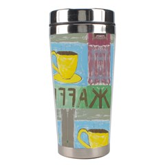Kaffe Painting Stainless Steel Travel Tumbler