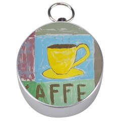 Kaffe Painting Silver Compass