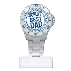 Fathers Day Rubber Stamp Effect Nurses Watch