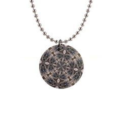 Flowing Waters Kaleidoscope Button Necklace