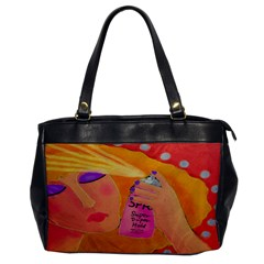 Hair Spray Hair Stylist Leather Like Shoulder Bag