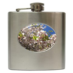Cherry Blossoms Hip Flask
