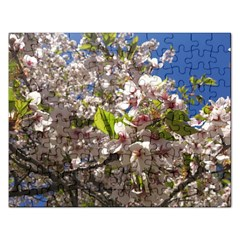 Cherry Blossoms Jigsaw Puzzle (Rectangle)