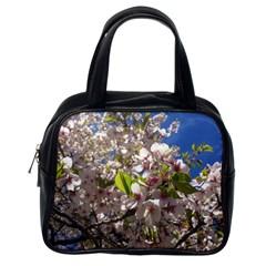 Cherry Blossoms Classic Handbag (one Side)