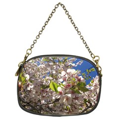 Cherry Blossoms Chain Purse (two Sided)