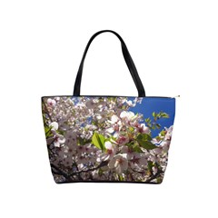 Cherry Blossoms Large Shoulder Bag