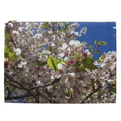 Cherry Blossoms Cosmetic Bag (XXL)