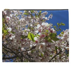 Cherry Blossoms Cosmetic Bag (xxxl)