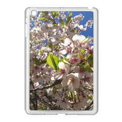 Cherry Blossoms Apple iPad Mini Case (White)