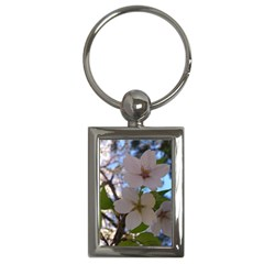 Sakura Key Chain (Rectangle)