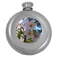 Sakura Hip Flask (Round)