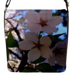Sakura Flap Closure Messenger Bag (Small)