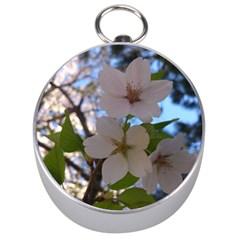 Sakura Silver Compass