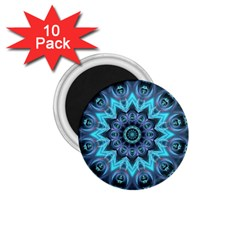 Star Connection, Abstract Cosmic Constellation 1.75  Button Magnet (10 pack)