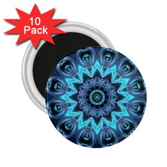 Star Connection, Abstract Cosmic Constellation 2.25  Button Magnet (10 pack)