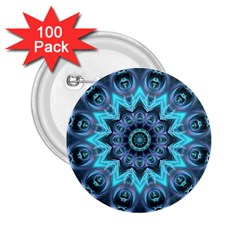 Star Connection, Abstract Cosmic Constellation 2 25  Button (100 Pack)