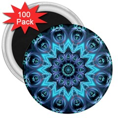Star Connection, Abstract Cosmic Constellation 3  Button Magnet (100 Pack)