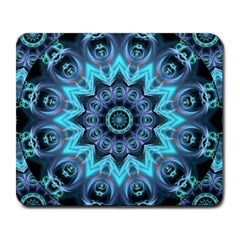 Star Connection, Abstract Cosmic Constellation Large Mouse Pad (rectangle)