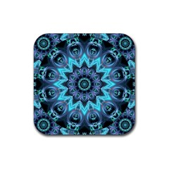 Star Connection, Abstract Cosmic Constellation Drink Coaster (square)