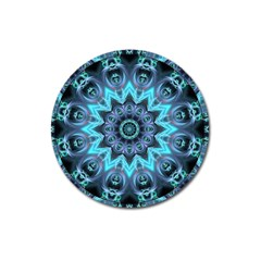 Star Connection, Abstract Cosmic Constellation Magnet 3  (Round)