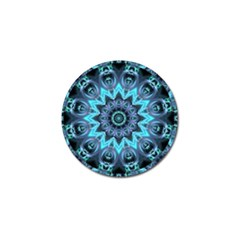 Star Connection, Abstract Cosmic Constellation Golf Ball Marker 4 Pack