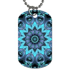 Star Connection, Abstract Cosmic Constellation Dog Tag (two Sided)