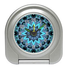 Star Connection, Abstract Cosmic Constellation Desk Alarm Clock