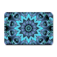 Star Connection, Abstract Cosmic Constellation Small Door Mat