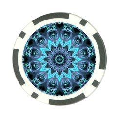 Star Connection, Abstract Cosmic Constellation Poker Chip