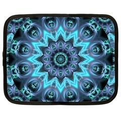 Star Connection, Abstract Cosmic Constellation Netbook Sleeve (xl)