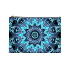 Star Connection, Abstract Cosmic Constellation Cosmetic Bag (large)
