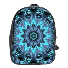 Star Connection, Abstract Cosmic Constellation School Bag (large)