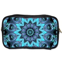 Star Connection, Abstract Cosmic Constellation Travel Toiletry Bag (Two Sides)
