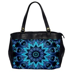 Star Connection, Abstract Cosmic Constellation Oversize Office Handbag (one Side)