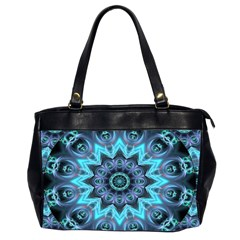 Star Connection, Abstract Cosmic Constellation Oversize Office Handbag (two Sides)