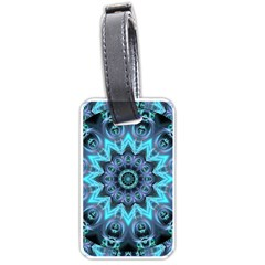 Star Connection, Abstract Cosmic Constellation Luggage Tag (Two Sides)