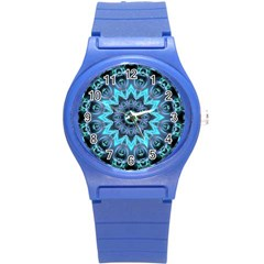 Star Connection, Abstract Cosmic Constellation Plastic Sport Watch (Small)
