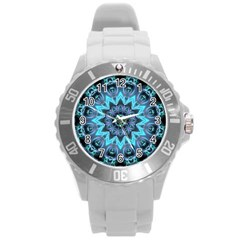 Star Connection, Abstract Cosmic Constellation Plastic Sport Watch (Large)
