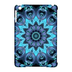Star Connection, Abstract Cosmic Constellation Apple iPad Mini Hardshell Case (Compatible with Smart Cover)