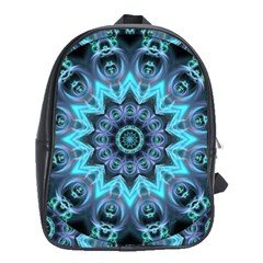 Star Connection, Abstract Cosmic Constellation School Bag (XL)
