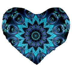 Star Connection, Abstract Cosmic Constellation 19  Premium Heart Shape Cushion