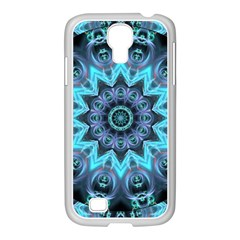Star Connection, Abstract Cosmic Constellation Samsung GALAXY S4 I9500/ I9505 Case (White)
