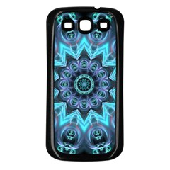 Star Connection, Abstract Cosmic Constellation Samsung Galaxy S3 Back Case (Black)