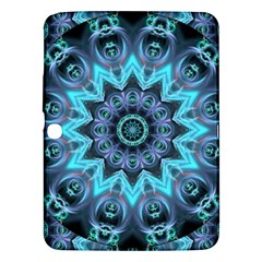 Star Connection, Abstract Cosmic Constellation Samsung Galaxy Tab 3 (10.1 ) P5200 Hardshell Case