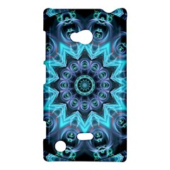 Star Connection, Abstract Cosmic Constellation Nokia Lumia 720 Hardshell Case