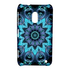 Star Connection, Abstract Cosmic Constellation Nokia Lumia 620 Hardshell Case