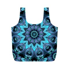 Star Connection, Abstract Cosmic Constellation Reusable Bag (M)
