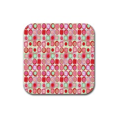 Far Out Geometrics Drink Coaster (square)